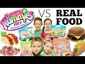 😂Yummy Nummies VS REAL FOOD Challenge🍔
