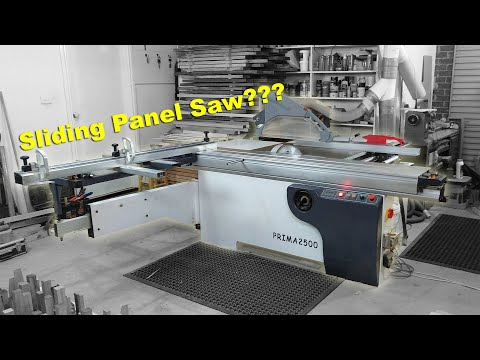Why I use a sliding panel saw instead of a table saw // Prima 2500