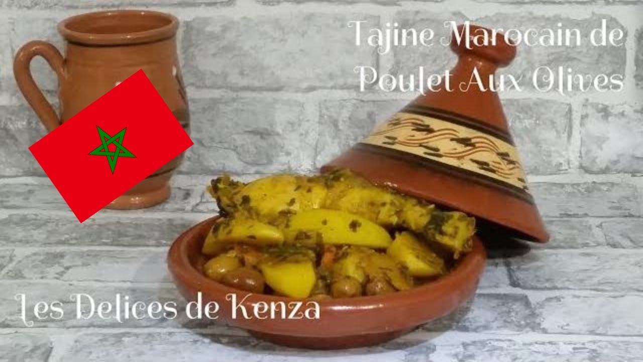 Recette Inratable du Tagine Marocain de Poulet aux Olives et Citron Confit - Cuisine Marocaine