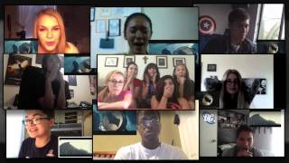 Batman VS Superman trailer reactions compilation