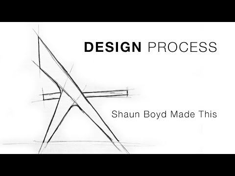 My Furniture Design Process – Shaun Boyd Made This