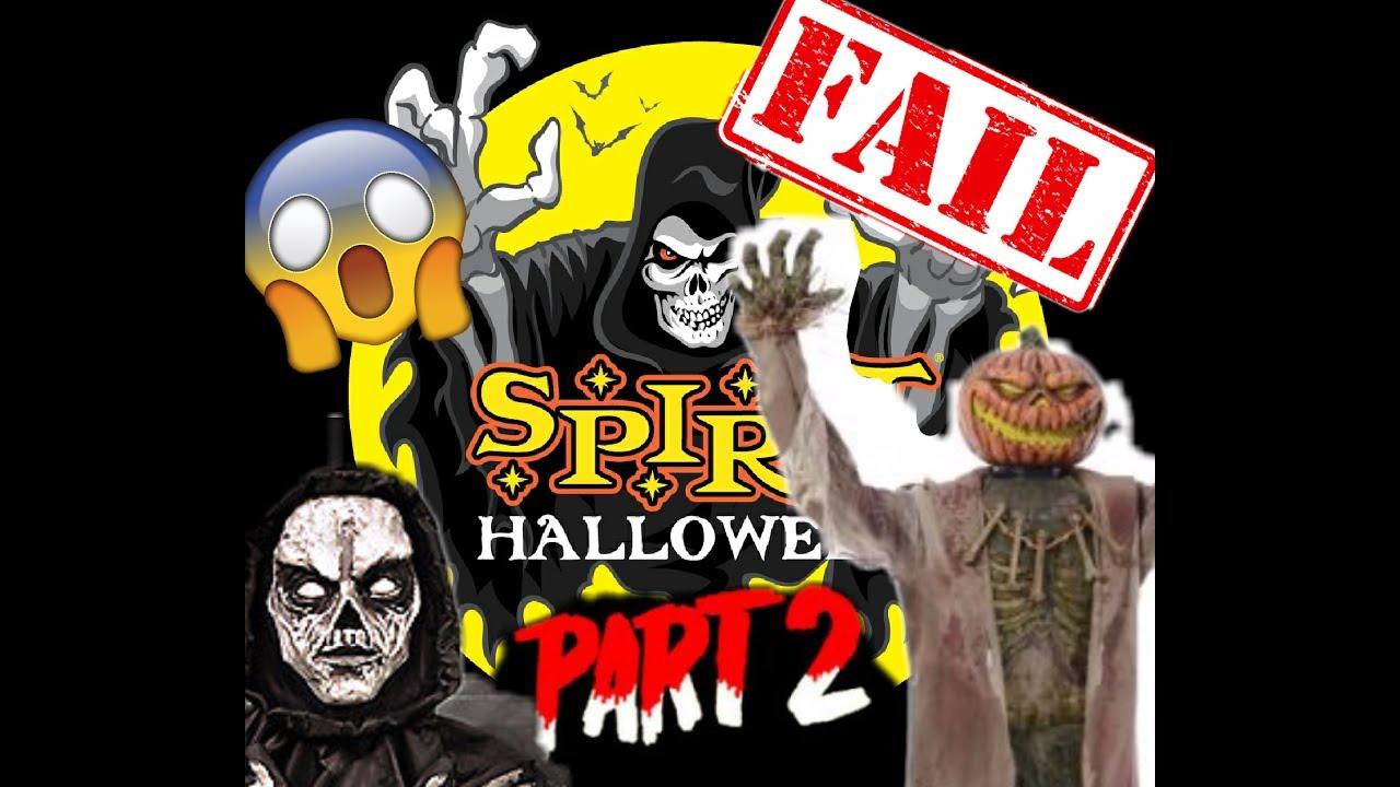 funniest spirit halloween prop fails part 2