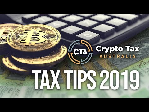 Cryptocurrency Taxation Australia - 2019 Crypto Tax Tips