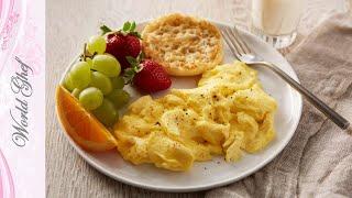 Яйца скрэмбл | Яичница болтунья | Рецепт