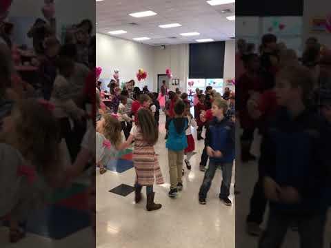 Valentine's Dance 2017 (2) - McAdory Elementary School - Juju On That Beat - 02/03/17