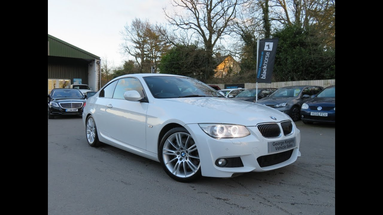 2011 bmw 335d m sport coupe sale at george kingsley vehicle sales colchester essex 01206. Black Bedroom Furniture Sets. Home Design Ideas