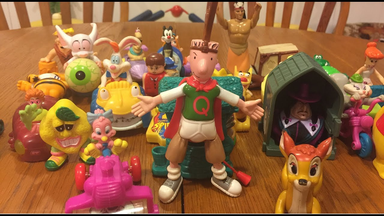 Happy Meal Toys From The 90s Disney Nickelodeon And More Youtube