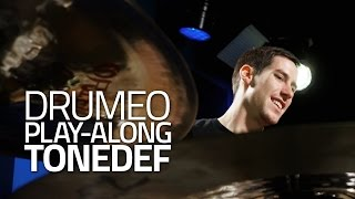 """Tonedef"" Drum Cover - Free Hard Rock/Metal Drumless Play-Along from Drumeo"