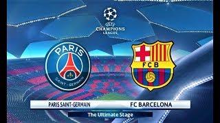 PSG vs Barcelona | Coutinho 2 Goals | UEFA Champions League 2018 Final | PES 2018 Gameplay HD