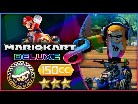 Mario Kart 8 Deluxe - Part 2 | Shell Cup 150cc Triple-Star! [Nintendo Switch Gameplay]