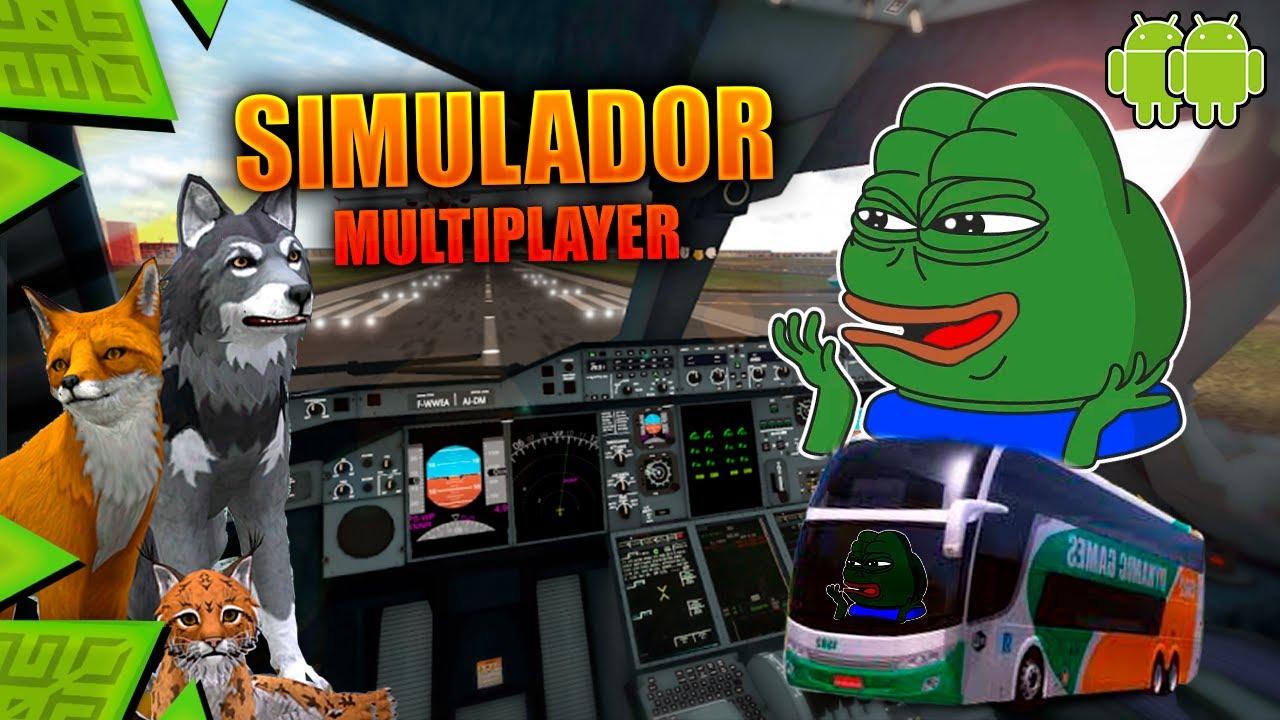 Juegos de Simulacion Multijugador para ANDROID 🚚🚌🐱 [ LOS MEJORES JUEGOS MULTIJUGADOR ]