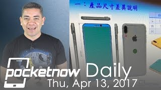 iPhone 8 design leaks, Apple Watch Series 3 secrets & more   Pocketnow Daily