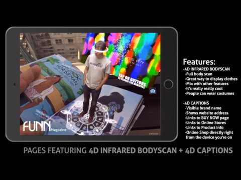 INFRARED BODY SCAN + 4D CAPTIONS