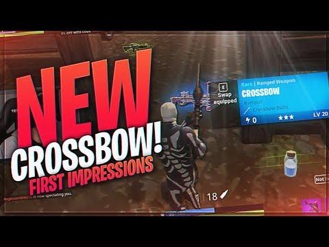 TSM Myth - THE NEW CROSSBOW.. IS IT GOOD? (Fortnite BR Full Match)