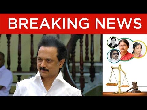 Exclusive: MK Stalin Speaks on Late J. Jayalalithaa & VK Sasikala Convicted in DA Case