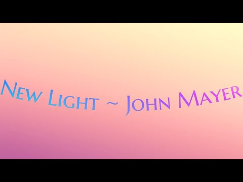 New Light ~ John Mayer (cover By JSmith Sings)