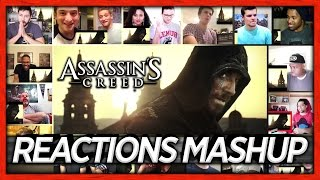 Assassin's Creed Trailer World Premiere Reaction's Mashup (21 people, 16 videos)