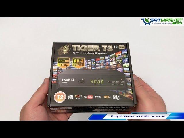 Видео обзор Tiger T2 IPTV