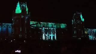 Световое шоу в Царицыно круг света 2018