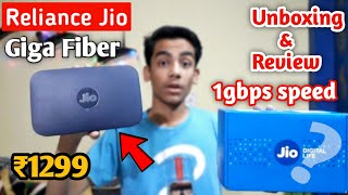 Reliance Jio Giga - Fiber Wifi Unboxing & Review | Specifications & Price In India
