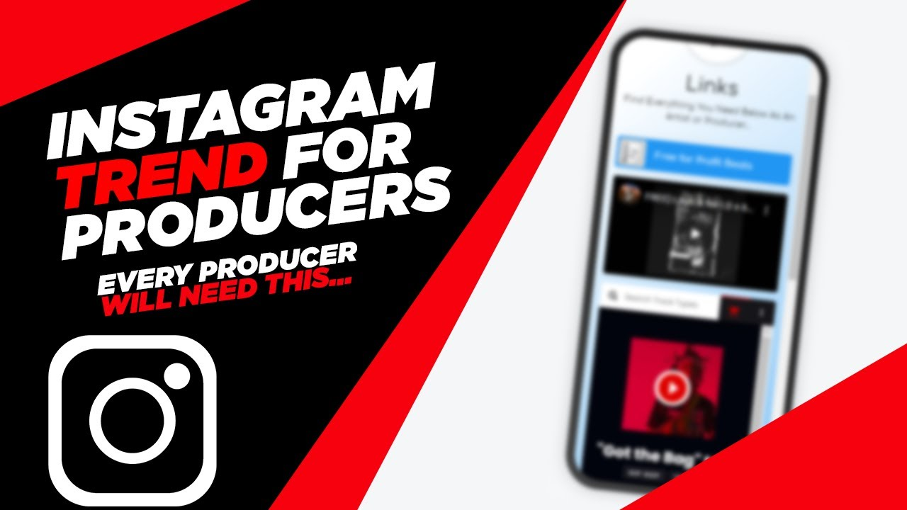 Sell Beats on Instagram with a NEW Trend for Producers | LinkName Tutorial