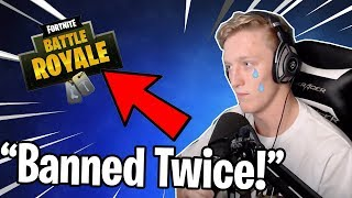 "TFue pourrait obtenir interdit de Fortnite deux fois! ""Trap through walls glitch"" NE FAITES PAS CELA!"