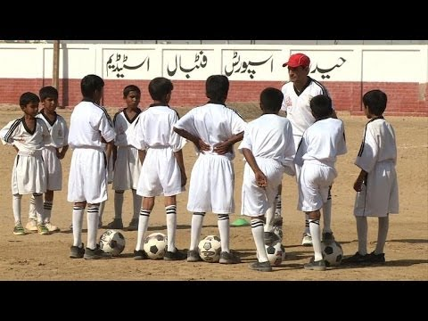 Football academy a 'Real' deal for Pakistani slum kids