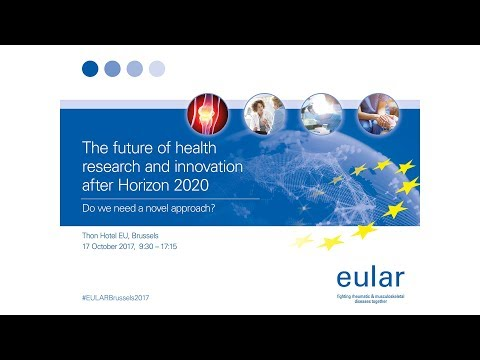 EULAR Brussels Conference 2017: Full Live Stream