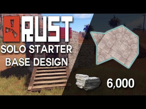 Search no blueprint design super cheap rust starter base design no blueprint needed rust base building 6000 stone malvernweather Images