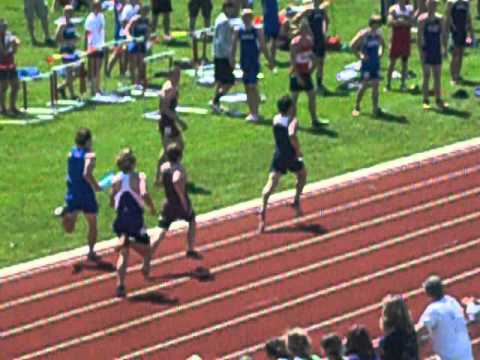 2012 MSHSL Section 8AA Track & Field Championship Meet - Boys 4X400 Meter Relay FINALS (Heat 2 of 2)