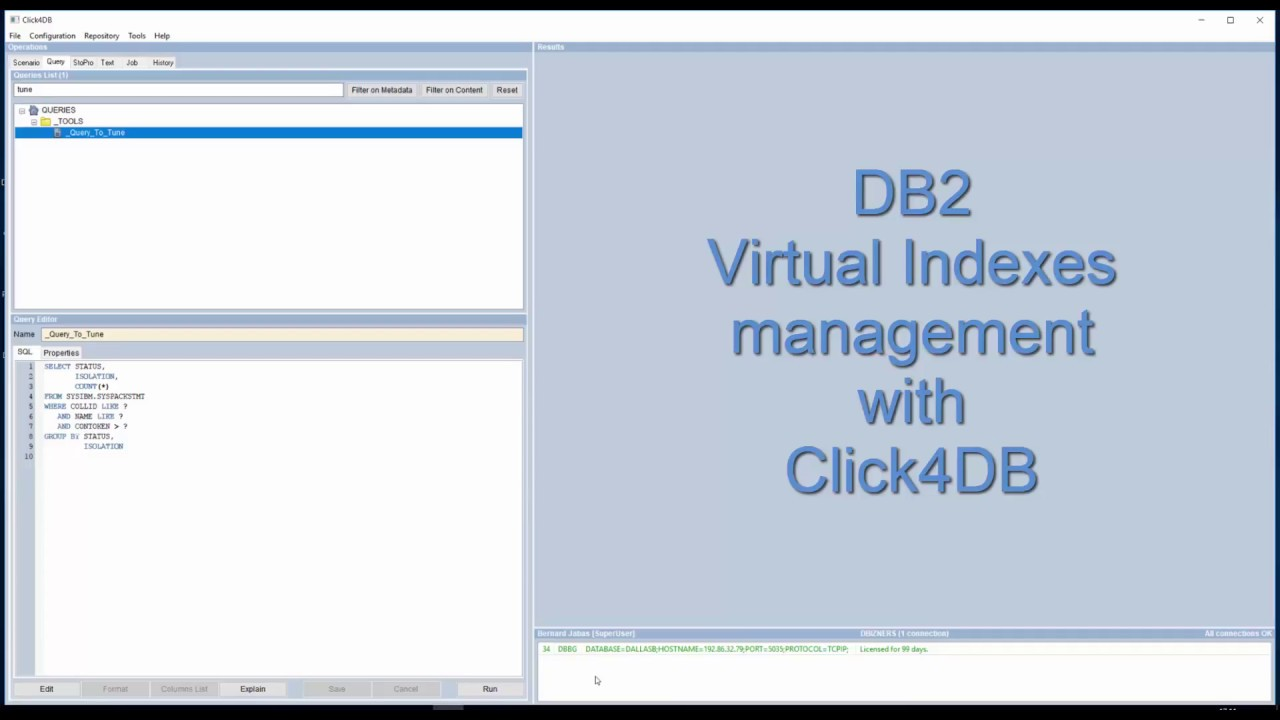 Db2 indexes tutorial
