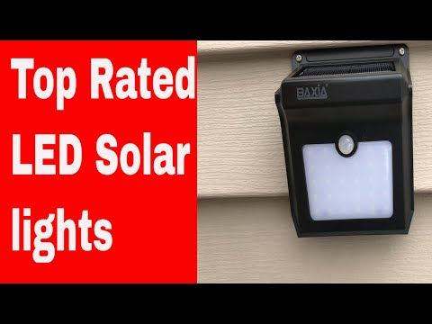Top rated led solar lights