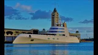 Russian Billionaire's $300 Million Dollar Yacht ( Super Yacht A )