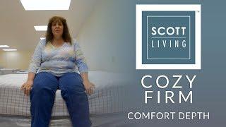 Restonic Scott Living Cozy Firm Mattress Comfort Depth 2