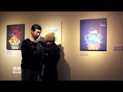 克魯格的帽子/互動插畫展