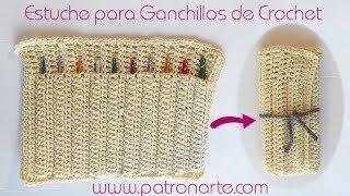 Estuche de Crochet para Guardar Ganchillos