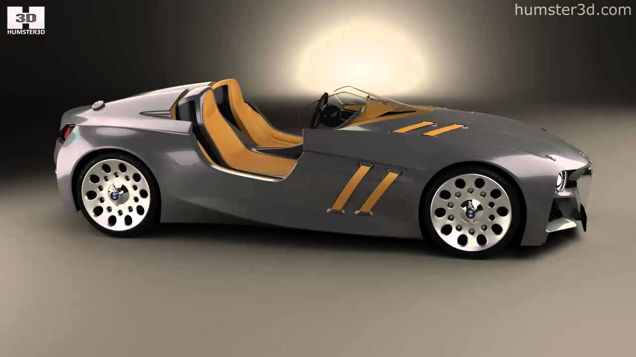 BMW 328 Hommage 2011 by 3D model store Humster3D.com - YouTube