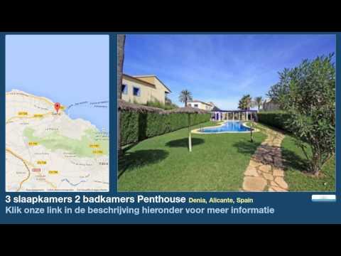 3 slaapkamers 2 badkamers Penthouse te Koop in Denia, Alicante, Spain