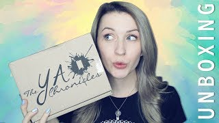 THE YA CHRONICLES UNBOXING   ... in space