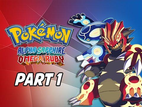 Pokemon Omega Ruby & Alpha Sapphire Walkthrough Part 1 - Return to Hoenn! (3DS Gameplay Commentary)