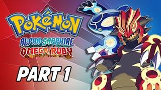 Pokemon Omega Ruby & Alpha Sapphire Walkthrough Part 1 - Return to Hoenn! (3DS Gameplay Commenta