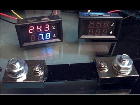 hook up voltmeter