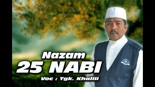 NAZAM ACEH 25 NABI - TGK KHALILI...