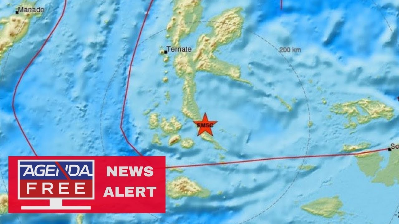 7.3 Earthquake Hits Indonesia - LIVE BREAKING NEWS COVERAGE