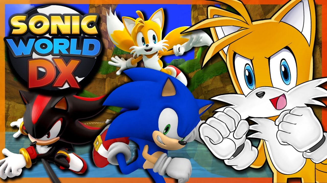 AMAZING GAME!! | Tails Plays Sonic World DX - SAGE 2020 Demo