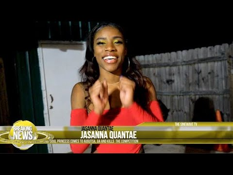 Brief interview and performance with Jasanna Quantae