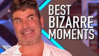 BRILLIANTLY BIZARRE Auditions on X Factor UK  X Factor Global