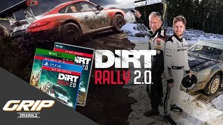 Digital vs. Real - Das ultimative Rallye-Duell | DiRT Rally 2.0 x GRIP Originals