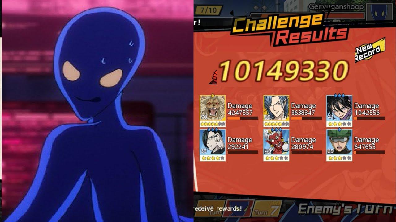 10m Geryuganshoop Boss Club Challenge Gear Showcase One Punch Man The Strongest Youtube
