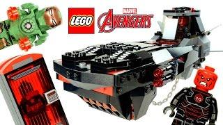 LEGO® Iron Skull Sub Attack 76048 Marvel Super Heroes Speed Build w/ Iron Man & Captain America